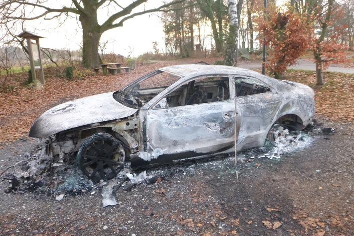 POL-OH: Gemeinsame Pressemitteilung der Staatsanwaltschaft Fulda und des Polizeipräsidiums Osthessen Rätsel um ausgebrannten PKW am Eichenzeller Türmchen gelöst!