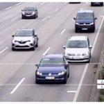 Darmstadt: Zahlreiche Fahrverbote nach Abstandsmessung auf der A5 Bei 169 km/h nur 19 Meter Sicherheitsabstand