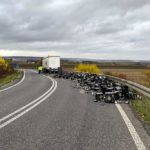 Wetterau: Verlorene Bierkästen sorgen für Sperrung der Autobahnauffahrt