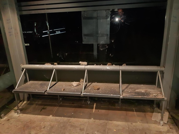 BPOL-HRO: Zwei mutmaßliche Täter nach Sachbeschädigung gestellt