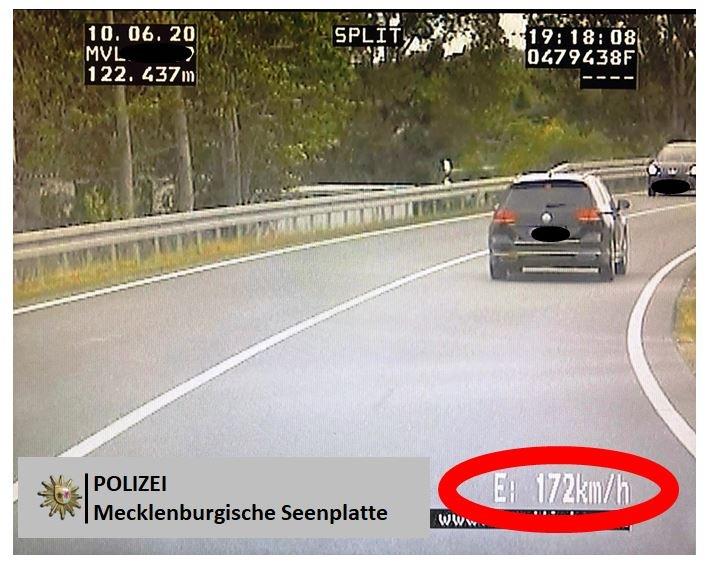 POL-NB: Der Videowagen im Einsatz – Vier Fahrzeugführer müssen mit Fahrverboten rechnen