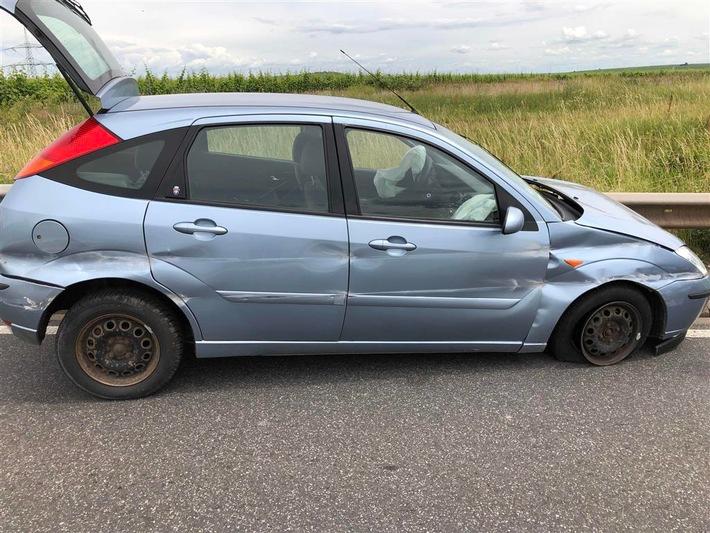 POL-PDKH: Verkehrsunfall mit verletzter Person unter Betäubungsmitteleinfluss
