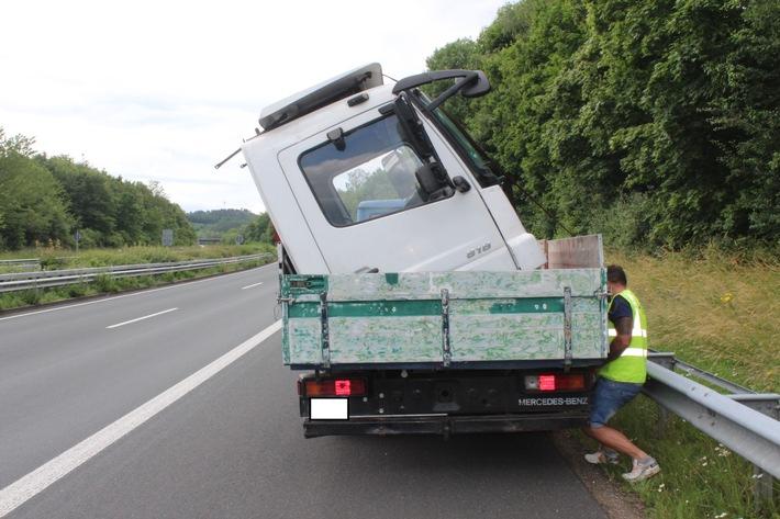 POL-PDKL: Verkehrsunsicherer Lastwagen