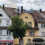 Pirmasens - Brand eines Mehrfamilienhauses - Leichnam bei erster Begehung im Obergeschoß aufgefunden