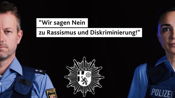 POL-PPRP: Polizeipräsidium Rheinpfalz sagt Nein zu Rassismus und Diskriminierung