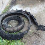 POL-PDKL: Autoreifen brennen lichterloh