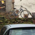 POL-PDKL: Deko-Fahrrad weg - benutzt und wieder zurückgebracht
