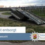 POL-PDNW: Asbesthaltige Eternitplatten entsorgt