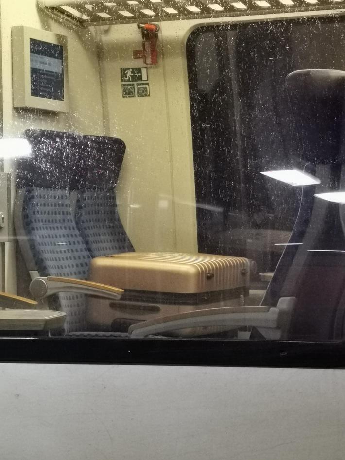 BPOLI MD: Herrenloser Koffer mit heraushängendem Draht in S-Bahn – Einsatz von Spezialkräften auf Hauptbahnhof erforderlich
