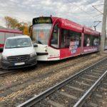 Erfurt  LPI-EF: Verkehrsunfall mit einer Straßenbahn