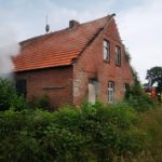 Feuerwehr Landkreis Leer: Brand in leerstehendem Gebäude