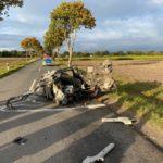 Rotenburg  POL-ROW: ++ Sattelgespann verunglückt auf der L 131 ++ 21-jähriger Autofahrer bei Unfall schwer verletzt ++ Fehler beim Überholen - Zwei Menschen verletzt ++ Autos im Stadtgebiet aufgebrochen ++