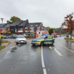 Wilhelmshaven / Friesland: Verkehrsunfall mit schwerverletzter Fußgängerin in Hohenkirchen