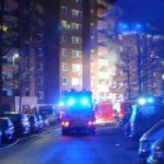 POL-STD: Küchenbrand in Stade sorgt für Großeinsatz von Feuerwehr und Rettungsdienst in der vergangenen Nacht - vier Personen leicht verletzt - ca. 100.000 Euro Sachschaden