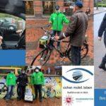 POL-STD: Polizei, Landkreis und Verkehrswacht unterwegs und Kontrollieren und beraten Radfahrende